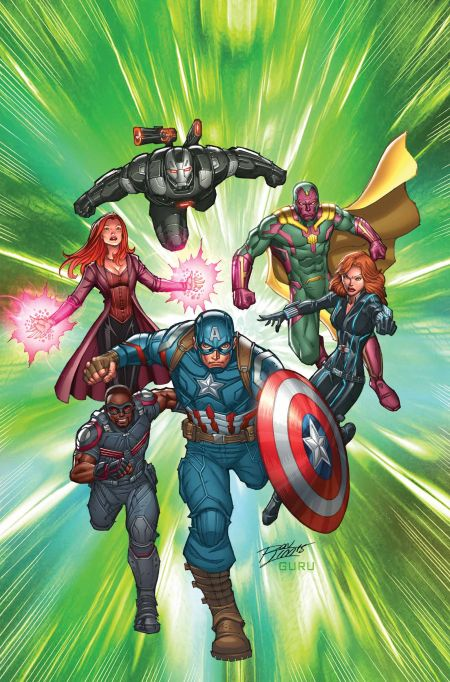"""Captain America Road To War"" #1"
