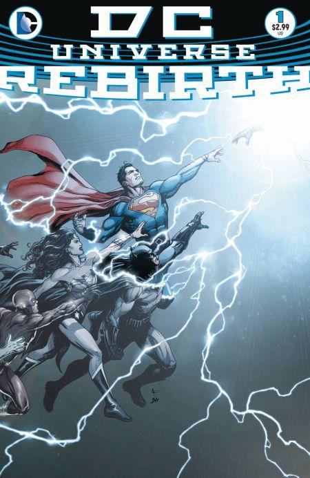 """""""DC Universe: Rebirth"""" #1"""