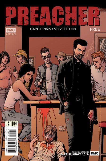Comic - Preacher 1 - 2016