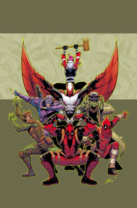 Comic - Deadpool and the Mercs For Money 1 - 2016