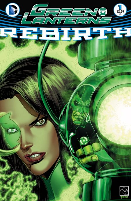 """Green Lanterns: Rebirth"" #1"