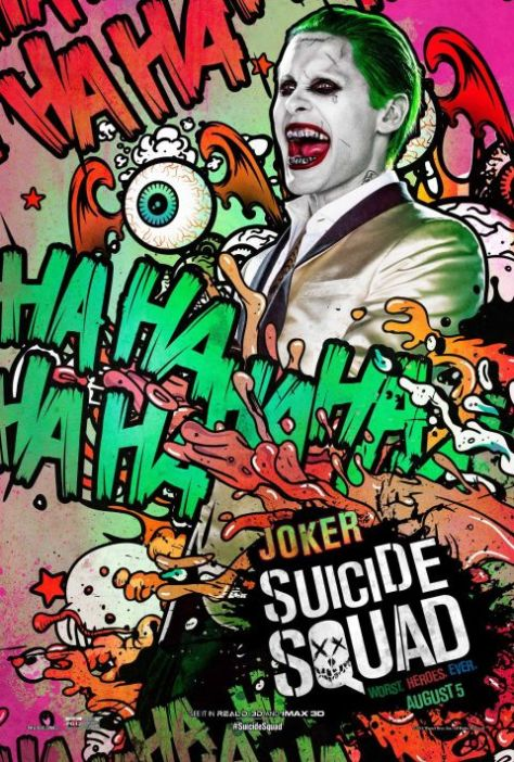 Poster - Suicide Squad Character 2 - Joker