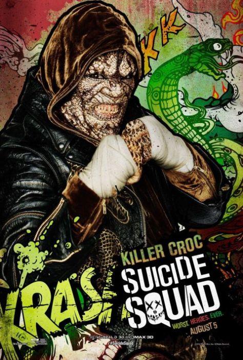 Poster - Suicide Squad Character 2 - Killer Croc
