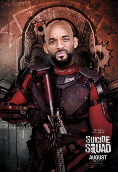 suicide squad, suicide squad character posters