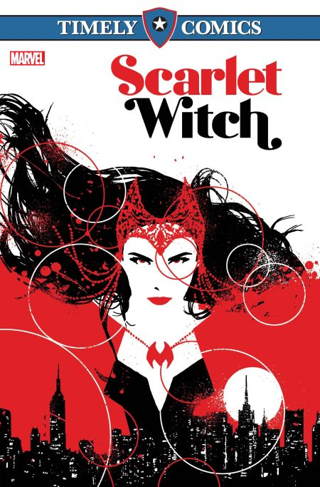 Timely Comics - Scarlet Witch