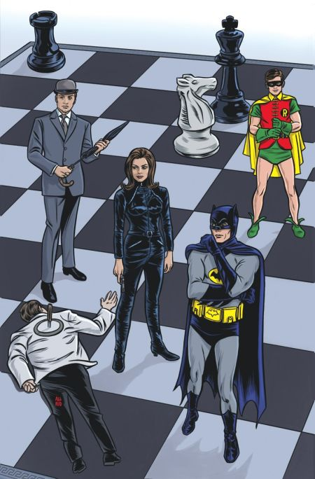 """Batman '66 Meets Steed and Mrs. Peel"" #1"