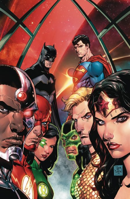 """Justice League Rebirth"" #1"