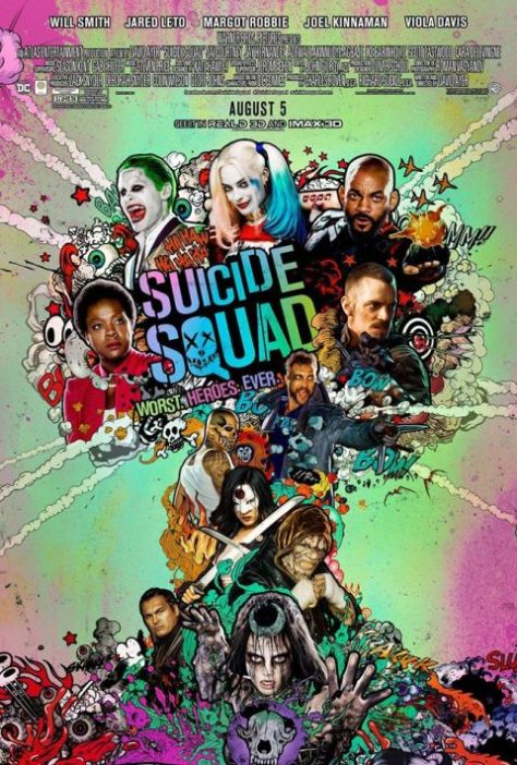 Poster - Suicide Squad - Theatrical 2016