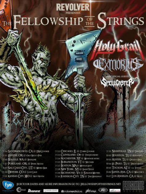 Tour - Holy Grail - Fellowship Of The Strings Tour - 2016