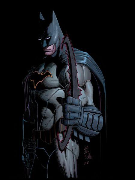 """All-Star Batman Director's Cut"" #1"