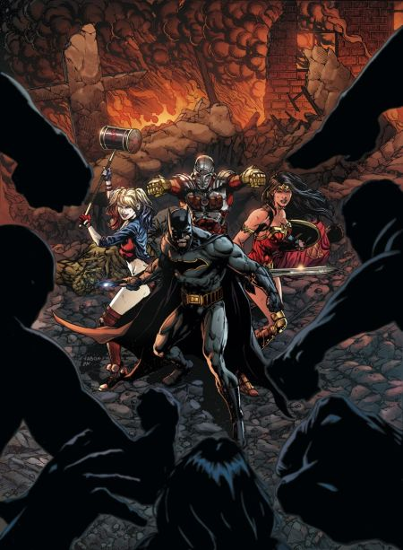 """Justice League Vs. Suicide Squad"" #1"