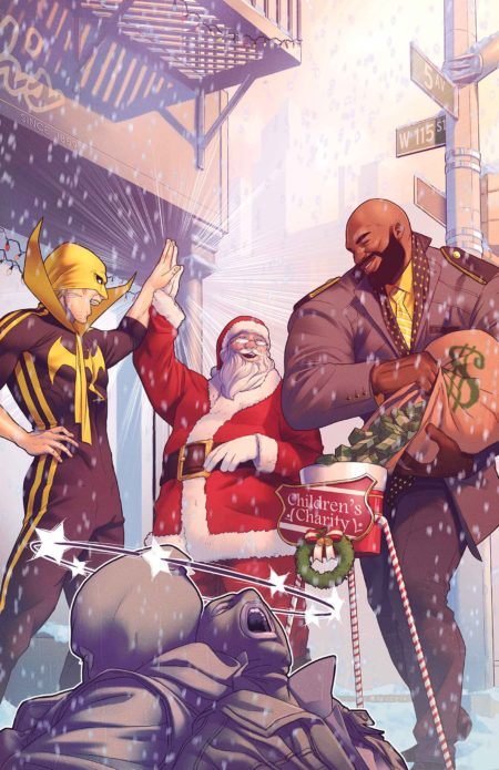"""Powerman and Iron Fist Sweet Christmas Annual"" #1"