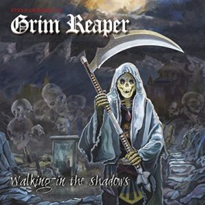 """Walking In The Shadows"" (Single) by Steve Grimmett's Grim Reaper"