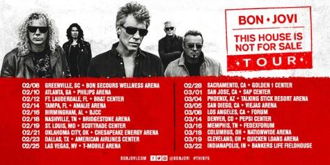 Bon Jovi Announces