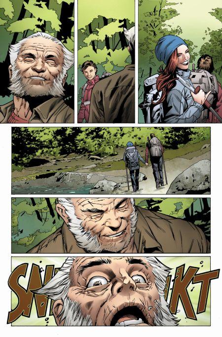 marvel comics, comic preview pages
