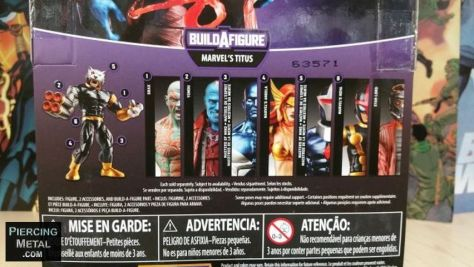 hasbro toys, marvel legends series, build-a-figure, guardians of the galaxy action figures