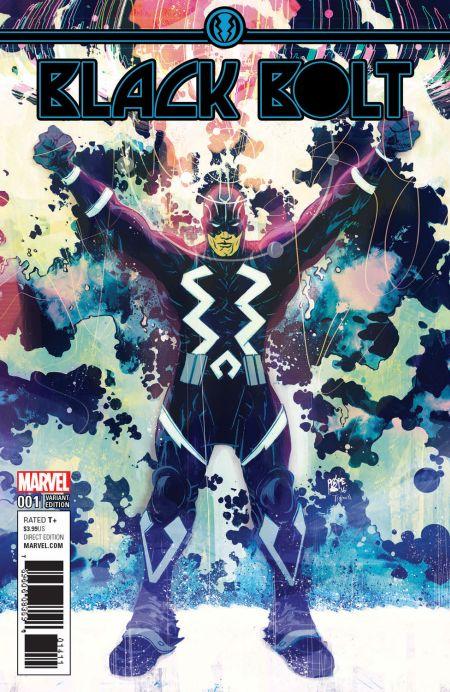 marvel comics, comic book covers, black bolt