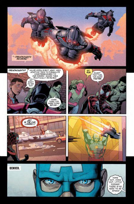 marvel comics, comic book preview pages, secret empire