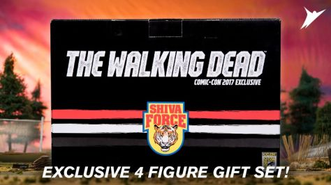 mcfarlane toys, the walking dead, shiva force, skybound entertainment, sdcc exclusives