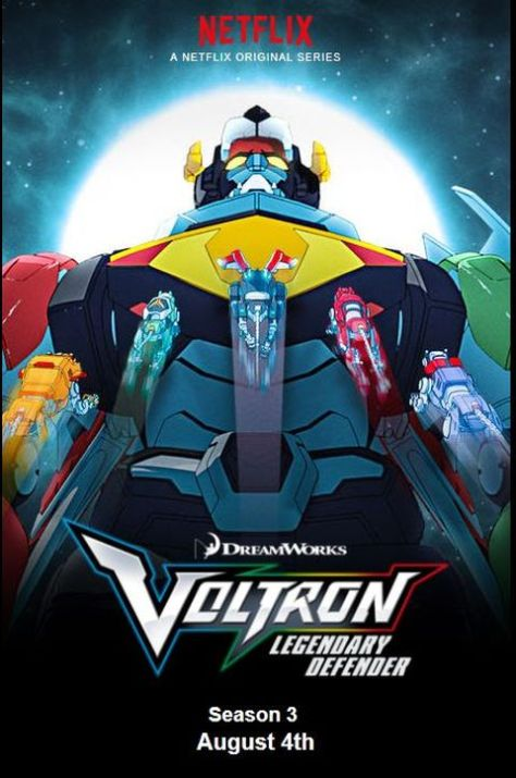 television posters, promotional posters, dreamworks animation television, netflix original, voltron, voltron: legendary defender