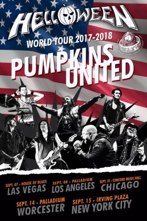 780b63ae tour posters, helloween tour posters, nuclear blast records artists,  helloween