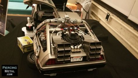 eaglemoss collections, back to the future, delorean time machine