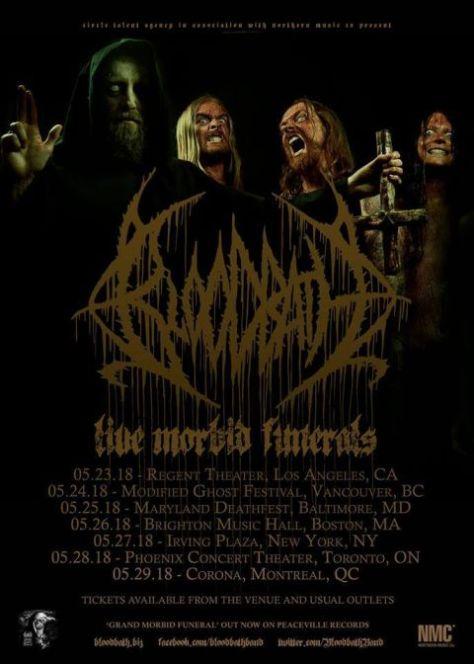 tour posters, bloodbath, bloodbath tour posters