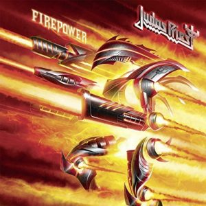 judas priest, album covers, firepower