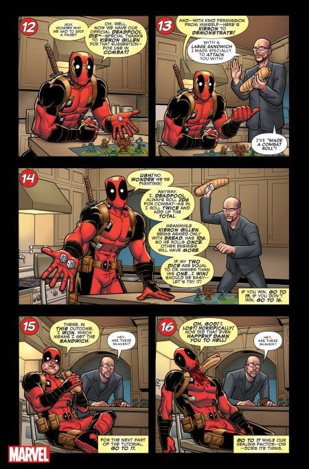 marvel comics, comic book previews, you are deadpool