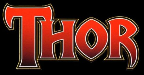 thor comics logo