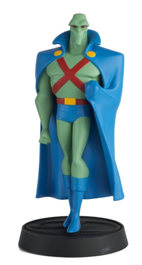 eaglemoss collections, justice league animated series, figurines, superhero figurines