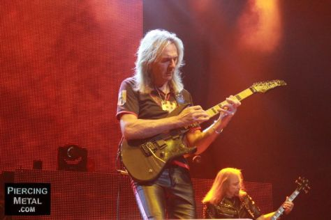 judas priest, judas priest concert photos, glenn tipton, glenn tipton photos, photo by ken pierce