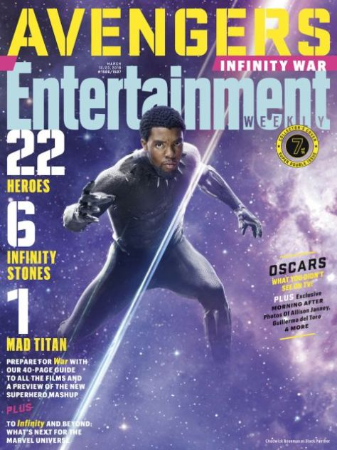 magazine covers, entertainment weekly, avengers infinity war, avengers infinity war covers, variant covers
