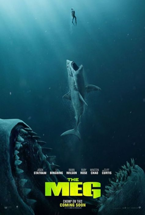 the meg, movie posters