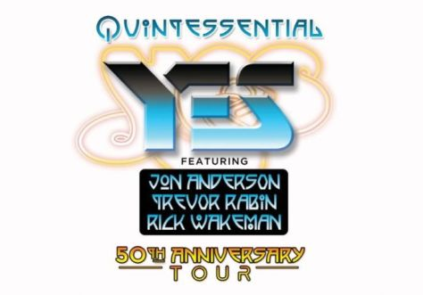 yes featuring anderson rabin wakeman, tour posters