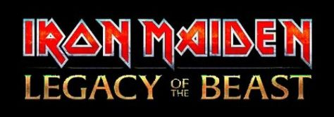 iron maiden legacy of the beast logo