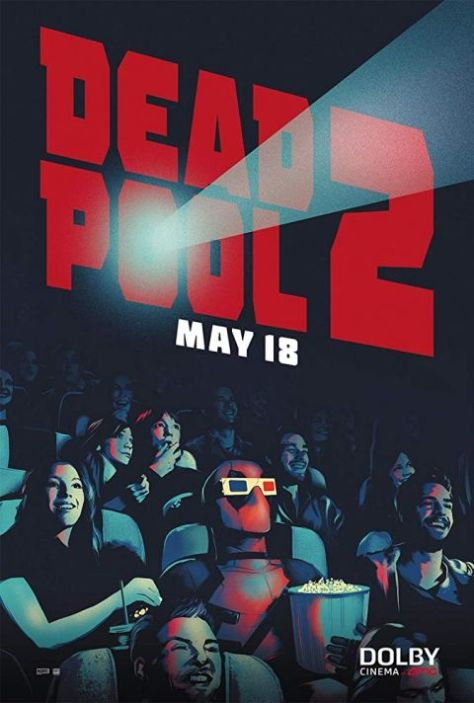 movie posters, promotional posters, 20th century fox, deadpool 2