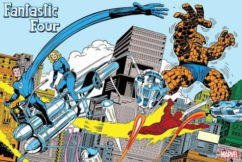 marvel comics, fantastic four, jack kirby