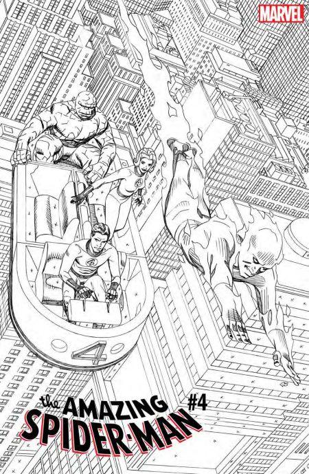 marvel comics, comic book covers, fantastic four variant covers