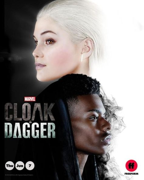 cloak and dagger, television poster, marvel television