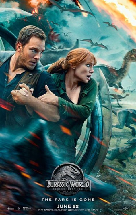 universal pictures, jurassic world: fallen kingdom, movie posters