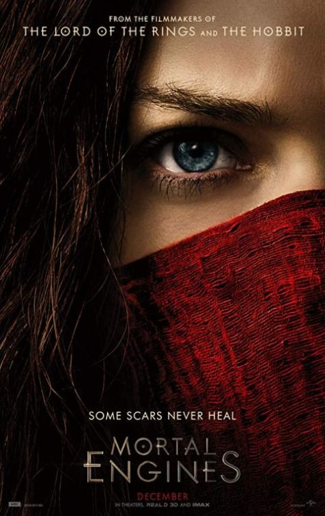 movie posters, mortal engines