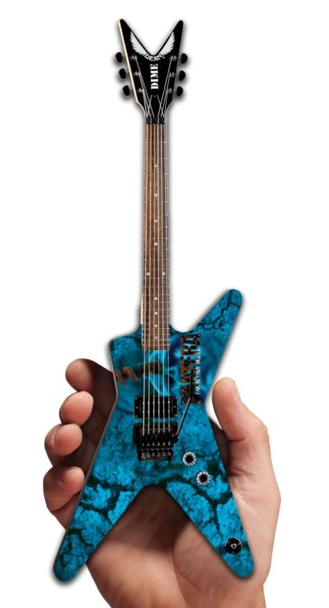 war machine marketing, pantera mini-guitars, sdcc exclusives