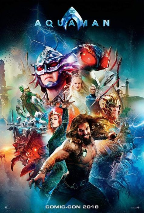 movie posters, warner brothers pictures, aquaman