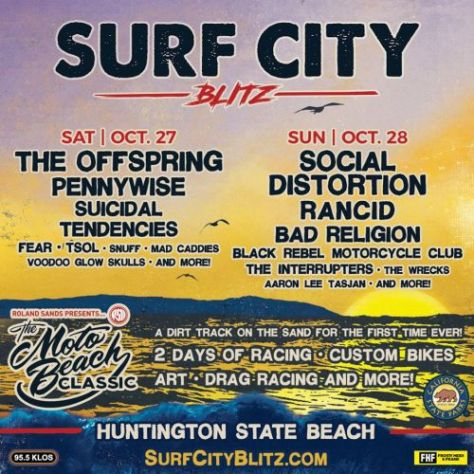 surf city blitz 2018 poster
