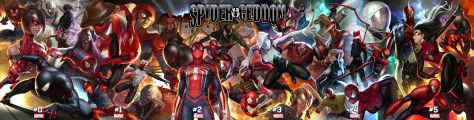 comic book covers, marvel comics, spider-geddon