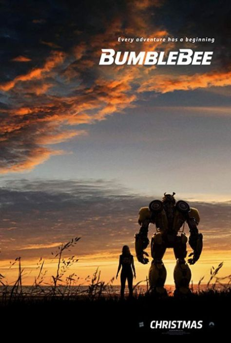 movie posters, paramount pictures, promotional posters, bumblebee