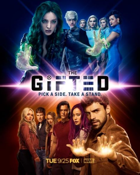 television posters, the gifted