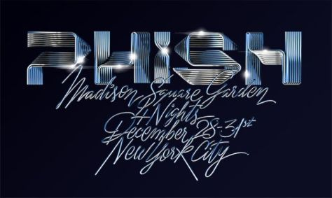 phish, phish tour posters, new year's eve 2018