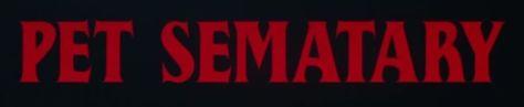 pet sematary logo